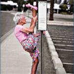 lady-stretching